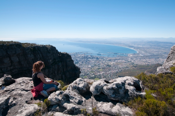 Cape Town, South Africa, Table Mountain, View
